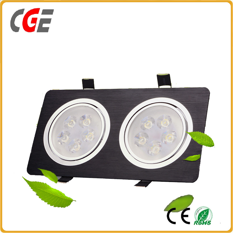 High power led recessed ceiling down light